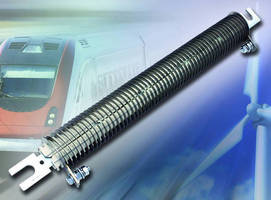 Edgewound Power Resistor offers ratings up to 85 A and 1,600 W.