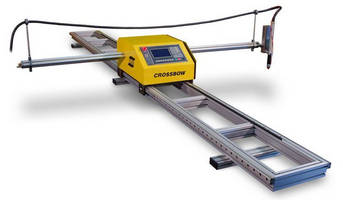 Portable Oxy-Fuel/Plasma Cutting System has integrated CNC.