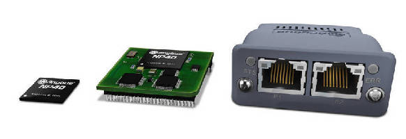 Embedded Modules enable multi-network connectivity.
