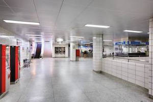 ROCKFON's Specialty Metal Ceiling Systems Improve TTC Islington Subway Station's Appearance