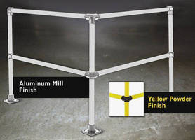 Modular Safety Rail System comes in steel and aluminum.
