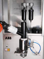 Robotic Cartridge Paint System serves waterborne applications.