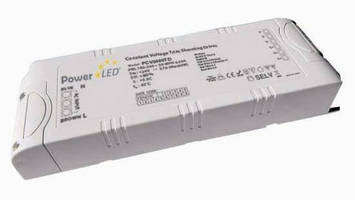 Constant Voltage LED Drivers offer 0-100% Triac dimmable control.