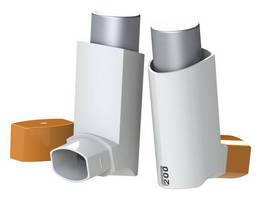 Inhaler Dose Counter keeps track of remaining medicine.