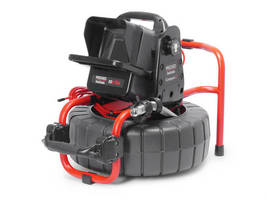The RIDGID® SeeSnake® Compact2 Camera Reel and CS6Pak Digital Recording Monitor Team up to Get Results Quicker