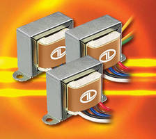 Panel Mount Step/Control Transformers have flexible design.