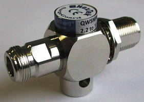 Quarter Wave Stub Lightning Protectors cover 2.2-7.6 GHz range.