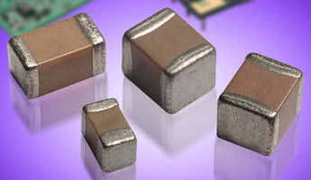 MLCCs offer capacitance/voltage ratings for diverse applications.