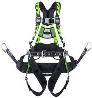 Climbing Harness promotes tower worker productivity and comfort.