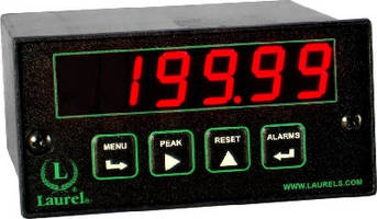 True AC RMS Meter offers Ethernet connectivity.