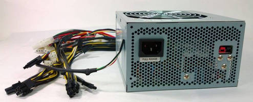 Medical, UPS-Ready, ATX Power Supply incorporates battery charger.