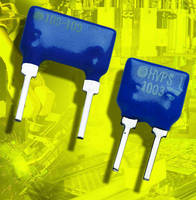 Thin Film Resistors offer working voltage to 1,800 V.