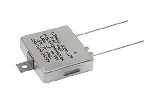 Aluminum Electrolytic Capacitors feature flat form factor.