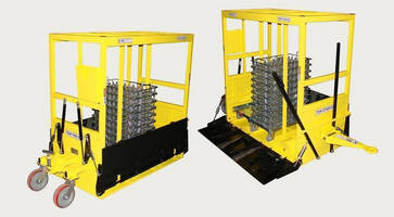 New High Capacity Mother Carts Deliver Machined Parts