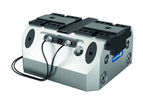 Clamping Force Block with Flexible Chuck Jaw Monitoring