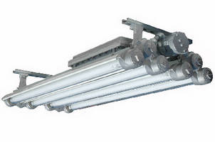 UV Fluorescent Light Fixture cures coatings and adhesives.