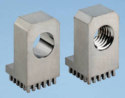 Press-Fit Wire-to-Board Connectors provide gas-tight interface.