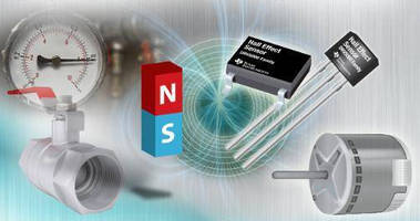 Hall Effect Magnetic Sensors offer thermally stable operation.