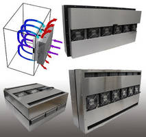 Thermoelectric Air Conditioners keep electronics cabinet cool.