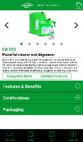 Walter Surface Technologies Introduces the Bio-Circle Cleaner Selector App for iPhone and Android Users
