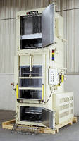 Vertical Conveyor Oven cures potting compounds.
