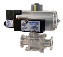 NAMUR Mount Solenoids offer high flow of 1.4 cV.