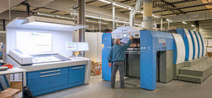 KBA Rapida 106 with HR-UV Replaces Two Presses