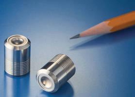 Miniature Burst Disc Plugs provide over-pressure protection.