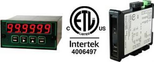 Laureate Series Meters and Counters, QLS Loop Splitter, and LT Series Transmitters Now ETL Certified to UL 61010-1