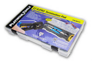 Platinum Tools® Features New EZ-RJPRO(TM) Termination Pod at InfoComm 2014
