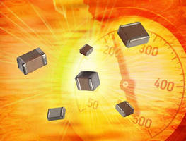 MLCCs operate at temperatures up to 250°C.