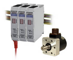 Resolver Interface Module communicates with PLC over network.