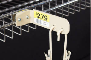 Strip Hanger enables cross-merchandising of products.