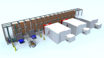 Fastems FMS 1:10 Scale Model at IMTS 2014