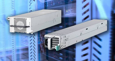 Three-Phase PFC and DC/DC Converter enhances data center efficacy.
