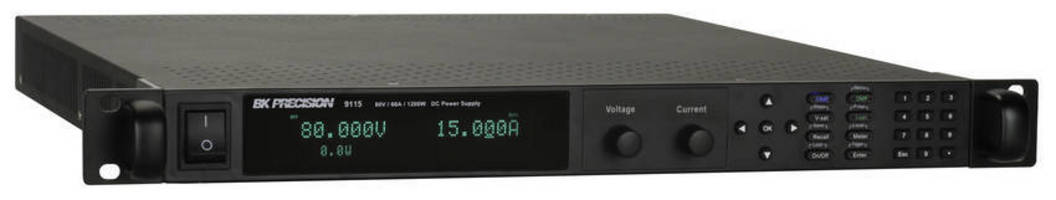 DC Power Supplies deliver full output power of 1,200 W.