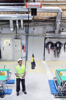 Electric Chain Hoist accelerates work cycles and promotes safety.