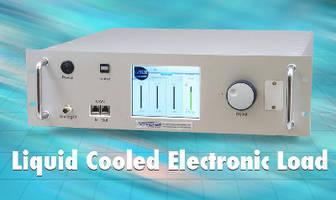 Electronic Loads feature liquid-cooled design.