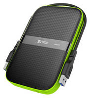 USB 3.0 Portable HDD has ruggedized design.