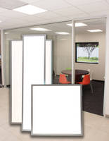 Dimmable LED Thin Panel Lights are ETL and DLC listed.
