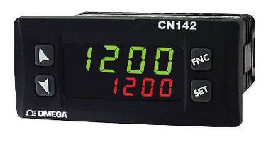 Temperature Process Controllers feature dual LED displays.