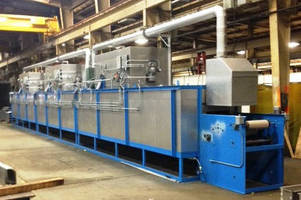 Gas-Fired Oven is used for curing rubber hose.