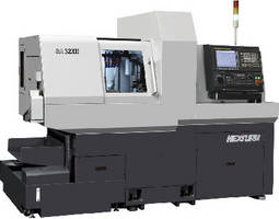 Swiss-Type Lathe features up to 9 total axes.