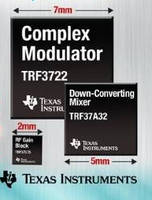 TI Adds RF Gain Blocks, Mixers and Modulator to Product Lineup