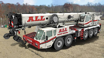ALL Erection & Crane Rental Corp. Adds Three Link-Belt AT Cranes Featuring Outstanding Mobility and Transportability
