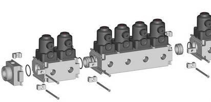 Plastic Multi-Port Valve Blocks are customizable and expandable.