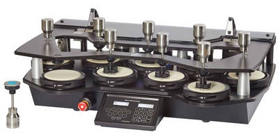 Abrasion/Pilling Tester accelerates routine laboratory testing.