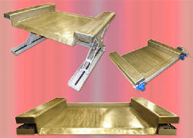 Ground Level Lift Tables eliminate hydraulics. .