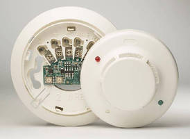 Addressable Smoke Detectors require minimal wiring.