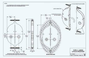 CAD Drawings of Norse Latches and Receivers Now Available for Download